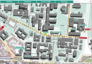 Interactive-Campus-Map